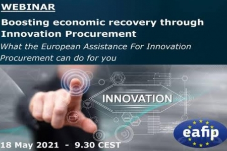 Webinar: Boosting economic recovery trough innovation procurement